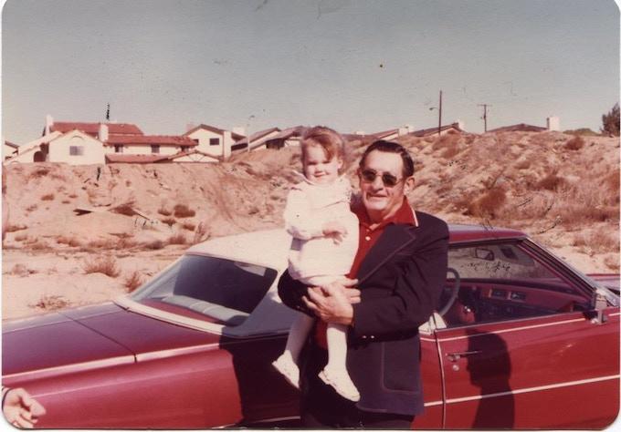Jen & Grandpa Walt