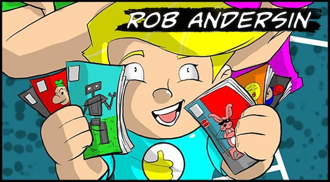 Writer Rob Andersin (Jax the Andersin)