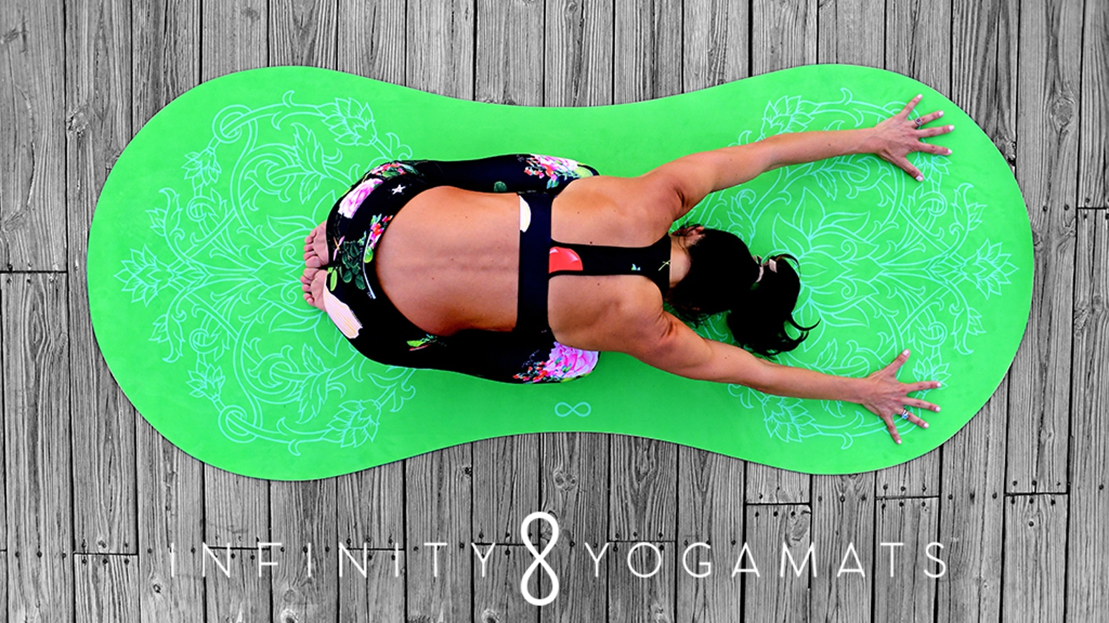 The world's first and only yoga mat designed to fit the shape of your body giving you the freedom to practice without boundaries.