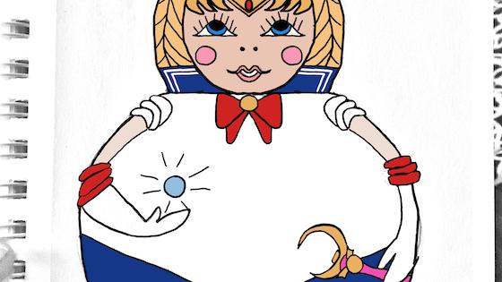 Sailor Moon Nesting Doll