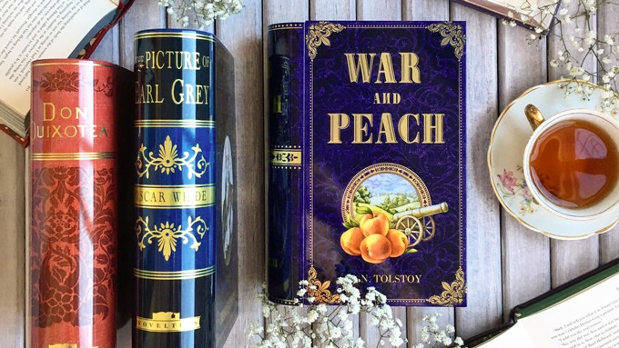 The Original Collection contains War and Peach, The Picture of Earl Grey (1st ed) and Don QuixoTea - Man of La ManChai  (3oz tins)