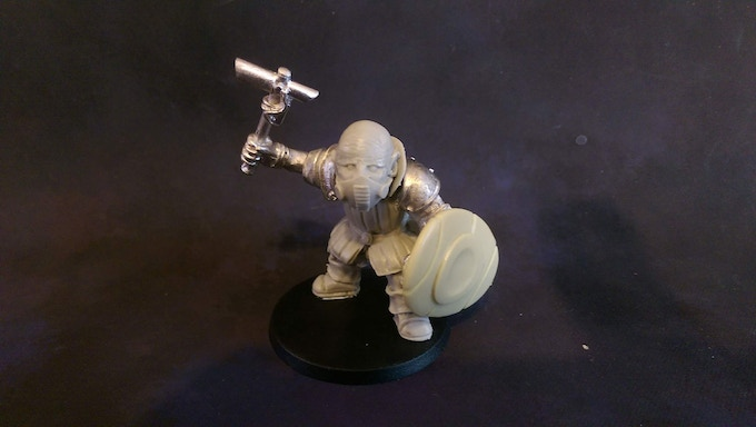 Og Storm Corps Hammer And Shield £7