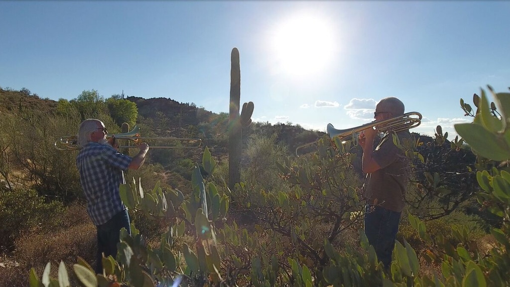 Yeo Pagano Project: Fratres- New Trombone Duet Recording project video thumbnail