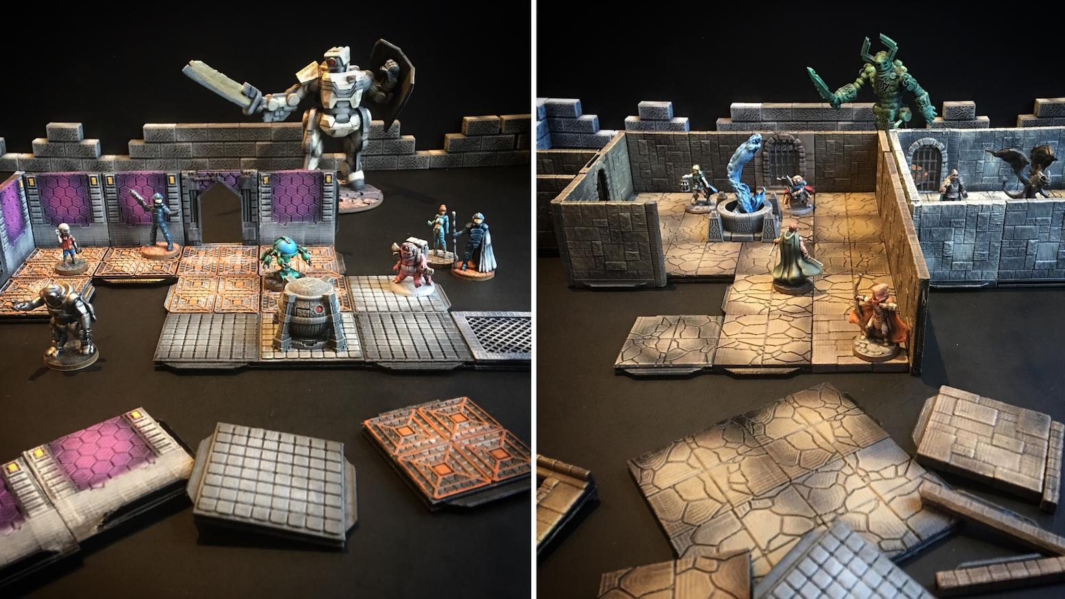 Z O D  3D-Printable Terrain Tiles by Ill Gotten Games » Sci