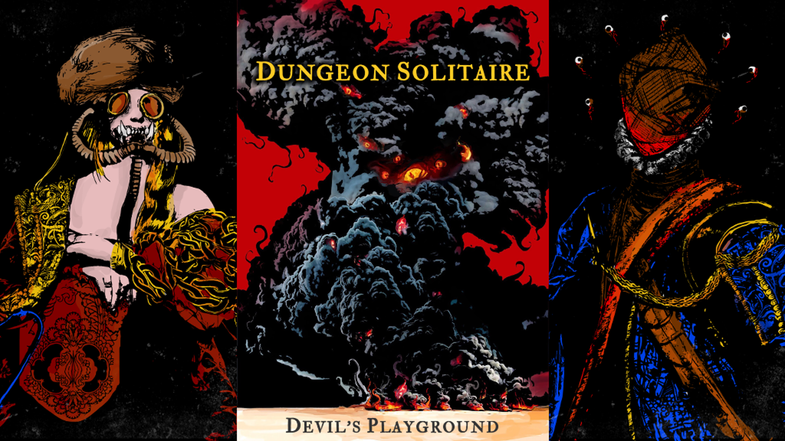 Dungeon Solitaire Devil S Playground By Matthew Lowes