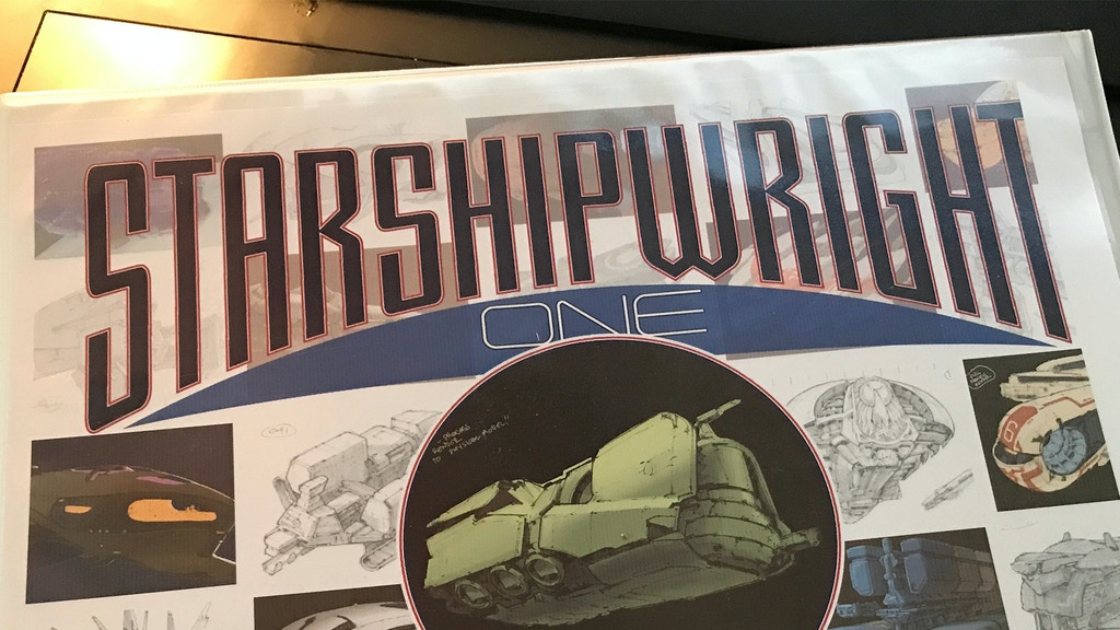 Starshipwright Book One project video thumbnail