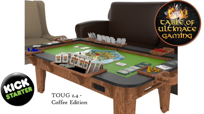 Take A Look Below At Our Recently Added 2 4 Compact Table Of Ultimate Gaming Available In Coffee Standard Or Tall Counter Height