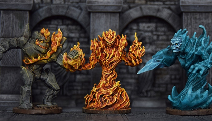 A song of fire, ice...and stone?