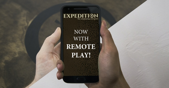 Remote Play stretch goal unlocked! By Christmas, you'll be able to play Expedition with your friends - no matter where they are!