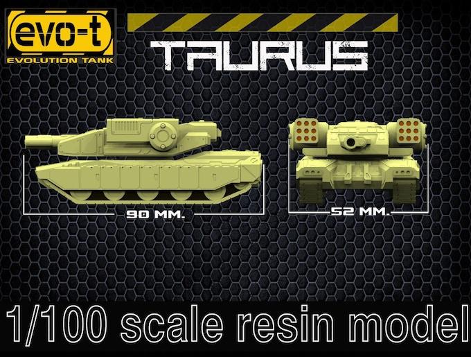 Taurus - size
