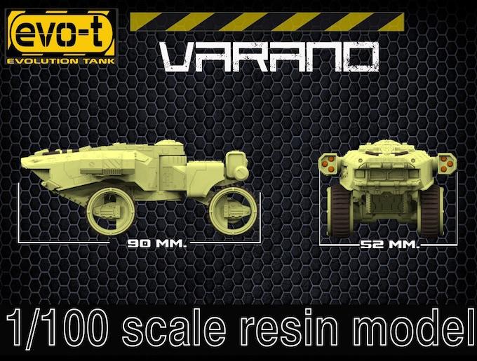 Varano - size
