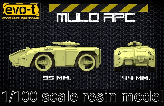 Mulo APC - size