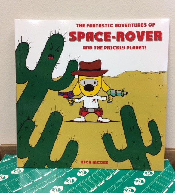 Space-Rover, the astronaut dog, returns in his second adventure! The Prickly Planet adds new places, characters, and adventures!