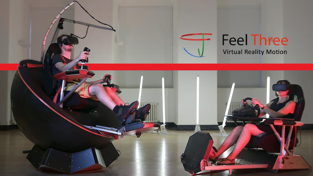 Feel Three : Virtual Reality Motion Simulator miniatura de video del proyecto