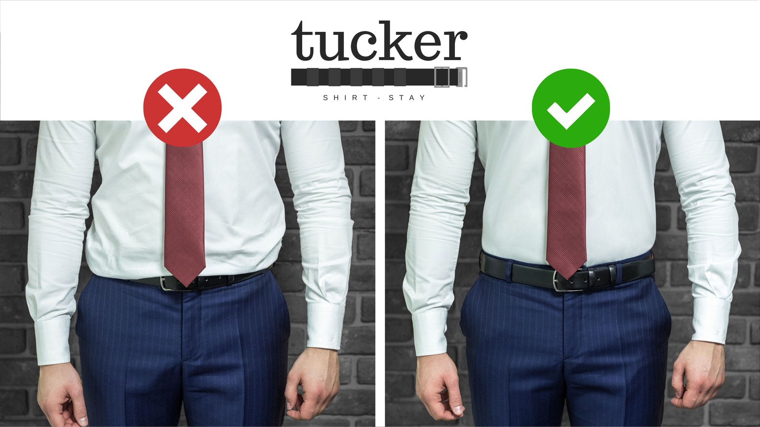Conquering the world is tough, keeping your shirt looking crisp all day shouldn't be.  Tucker handles the shirt, you handle the rest.