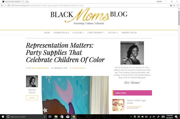 Black Moms Blog | September 7, 2017