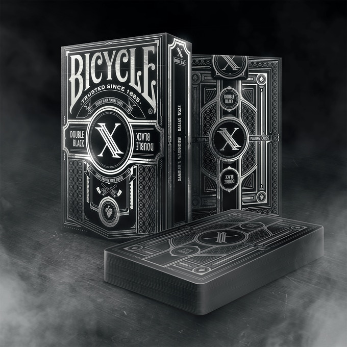 Bicycle Double Black Limited Edition Deck