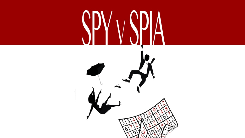 SPY v SPIA - A MADCAP SPY PARODY ROMANTIC COMEDY project video thumbnail
