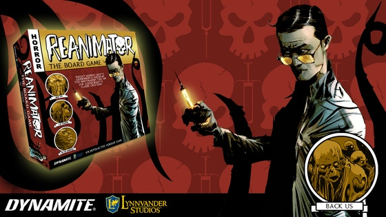 H.P. Lovecraft's ReAnimator Mystery Board Game