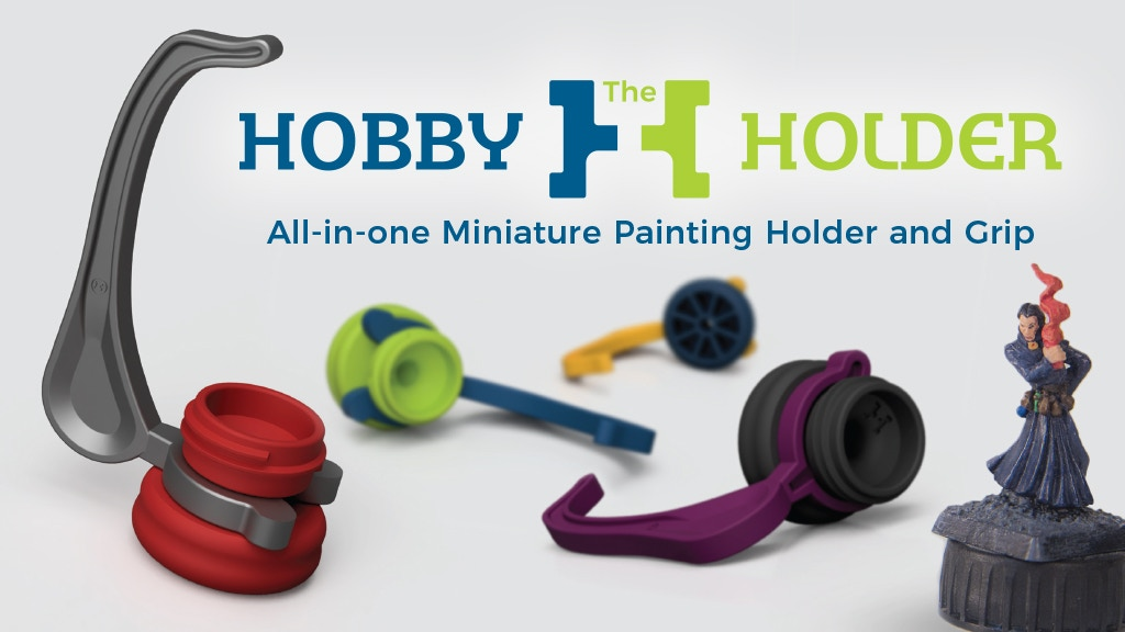 The Hobby Holder - A Better Way to Paint Miniatures project video thumbnail