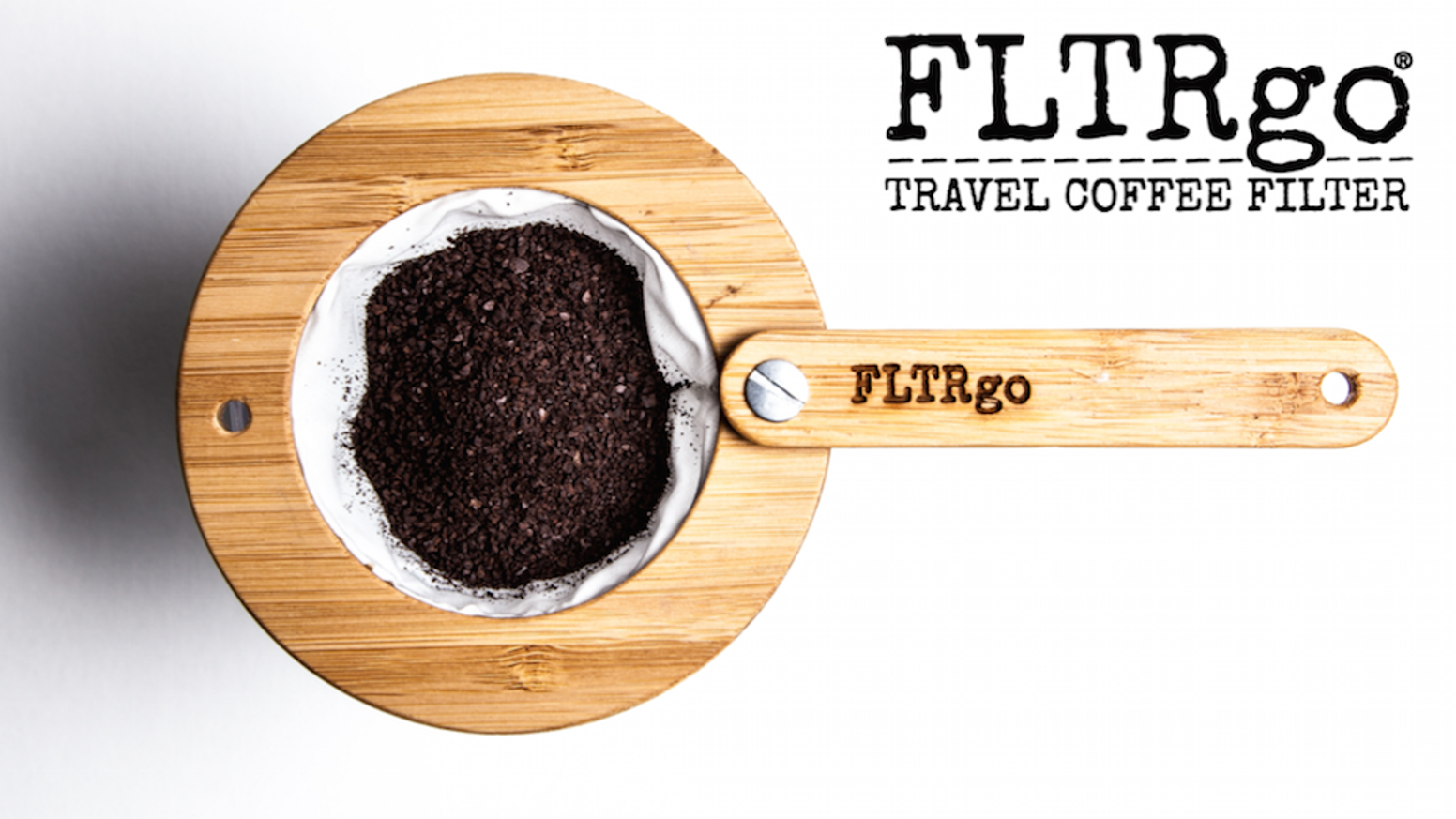 Perfect for camping, travel & home use. The FLTRgo is a sustainable coffee filter that can be re-used hundreds of times!