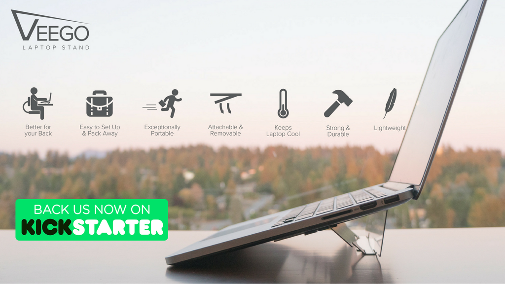 Veego Stand | The Easiest Laptop Stand to Use project video thumbnail