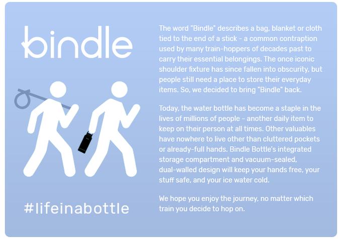 Visit our site: bindlebottle.com