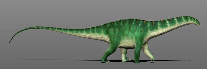 Apatosaurus for Beasts of Bermuda, by Manuel Gil