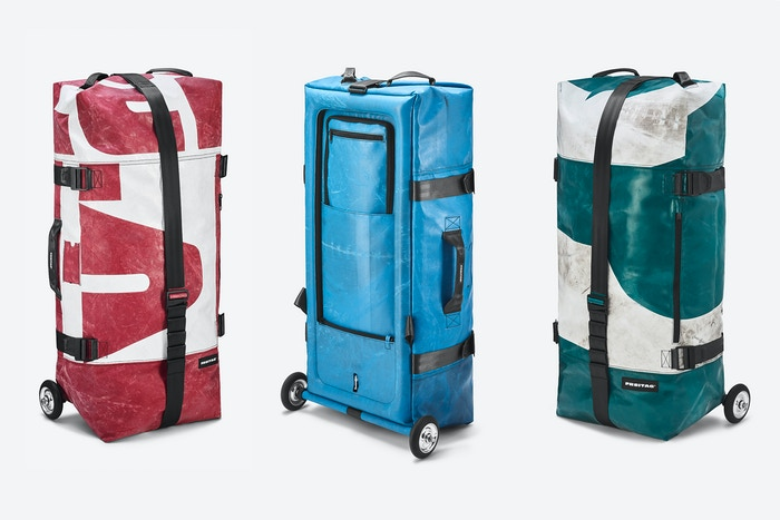 Zippelin An Inflatable One Of A Kind Travel Bag By Freitag
