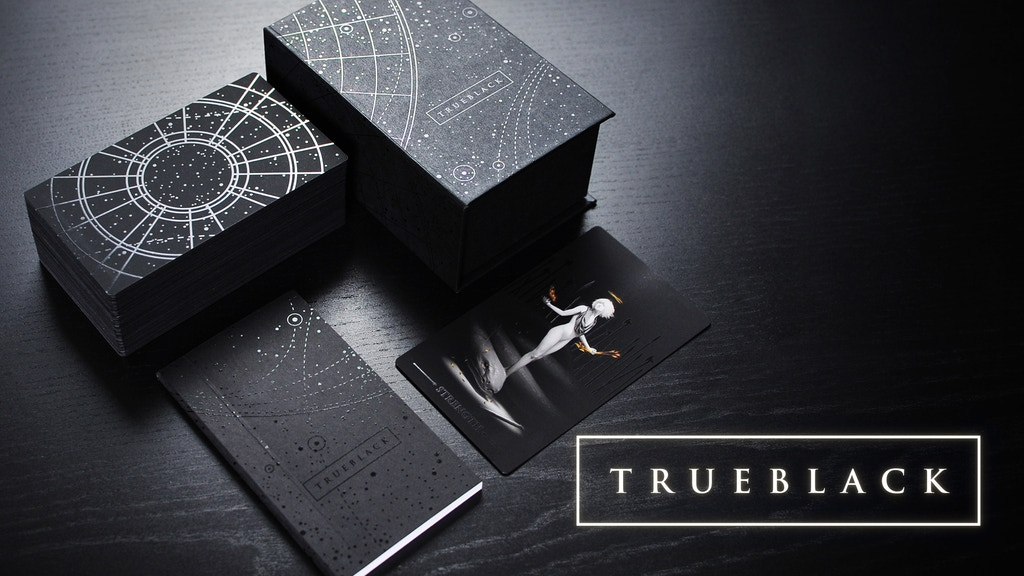 True Black: The Tarot Deck project video thumbnail