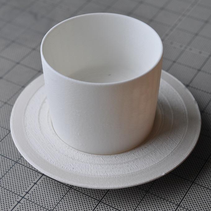 3Dプリントによる形状検討