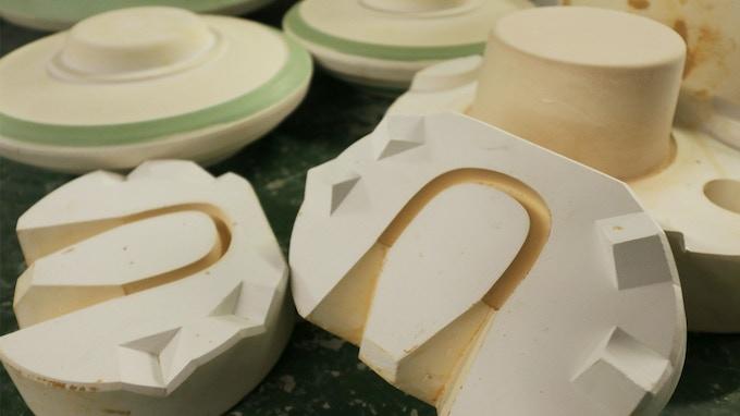 生産プロトタイプ用の石膏型