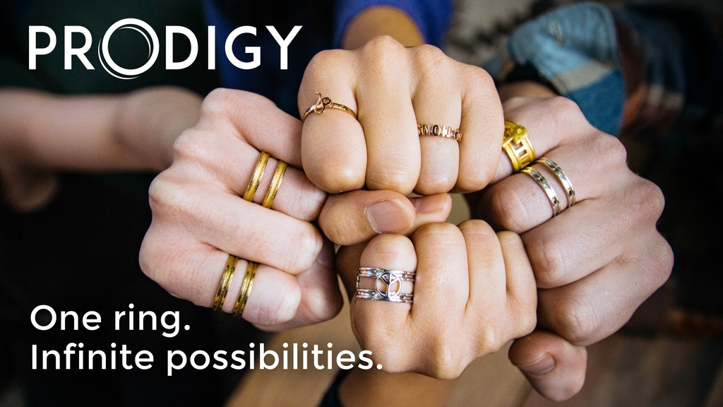 Prodigy Rings: Fully Customizable 3D-Printed Accessories