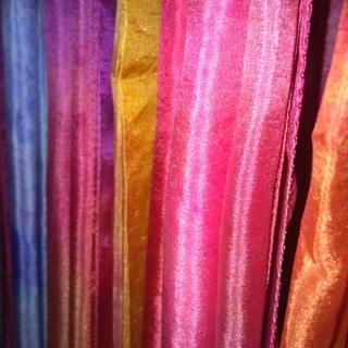 multi coloured silks