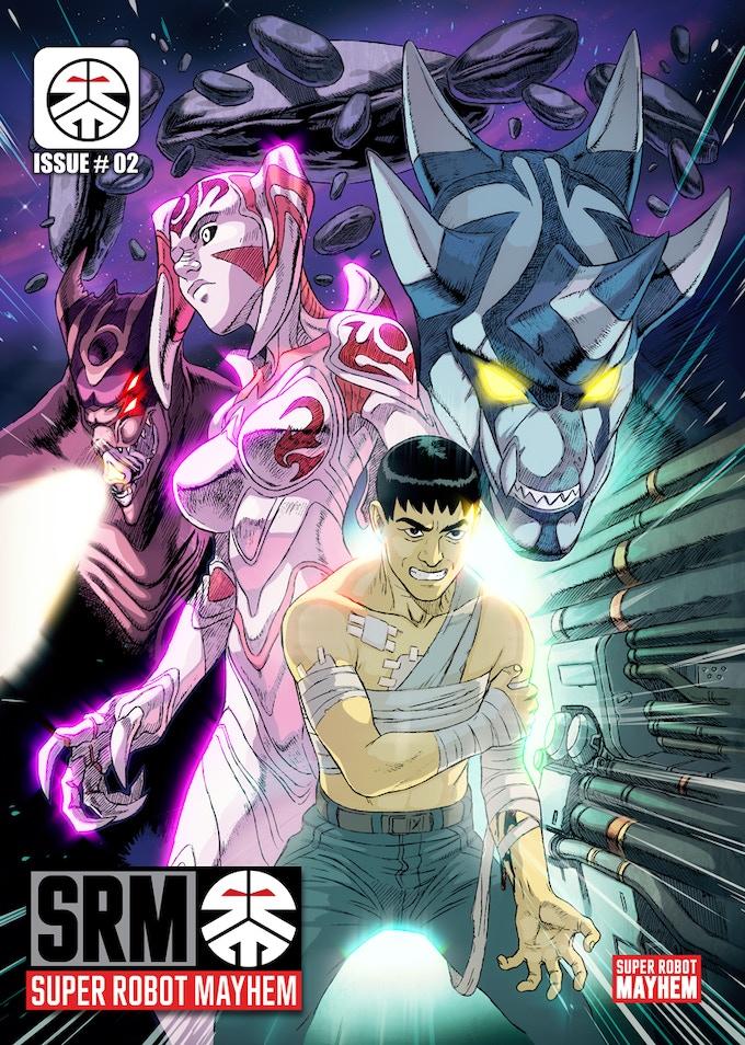 Super Robot Mayhem #2 - regular cover