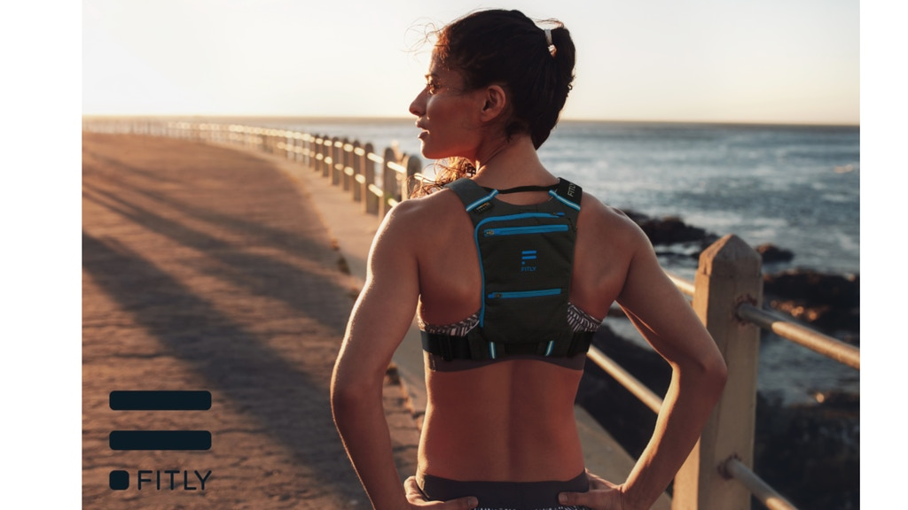 FITLY - the Most Exciting and Innovative Running Pack project video thumbnail