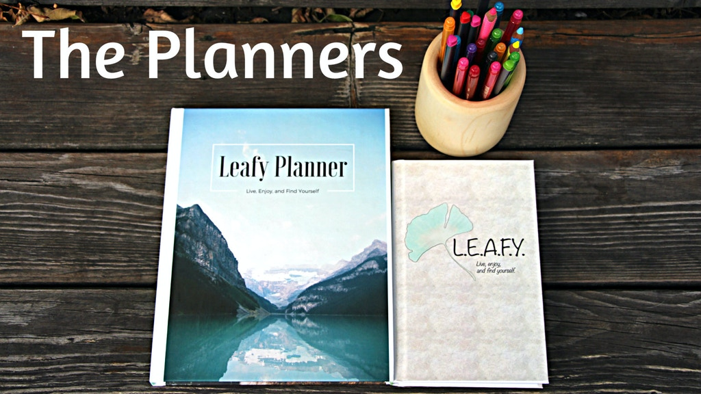The Leafy Mindfulness Planner project video thumbnail