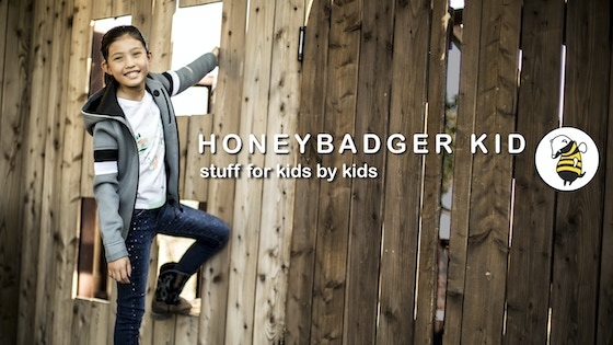HoneyBadger Kid - the JacPac - by kids for kids