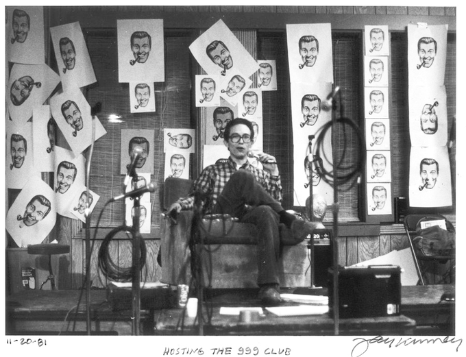 Ivan Stang hosts the 999 Club (1981)