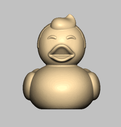 Model ready for 3D printing