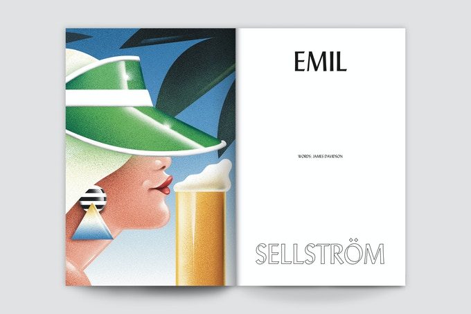 Emil Sellström on bathtubs of beer, home-brewing, and his 1980s Miami Vice-soaked illustrative vibes