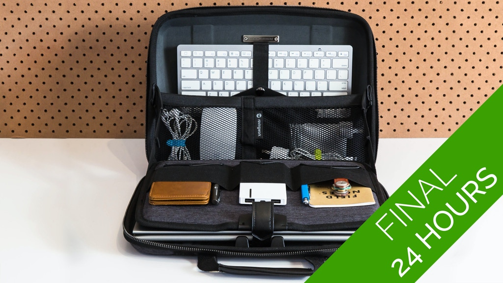 MOBICASE - the most functional laptop bag for mobile workers project video thumbnail