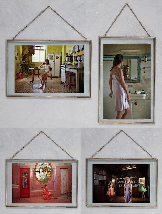 Prints in Copper Frame