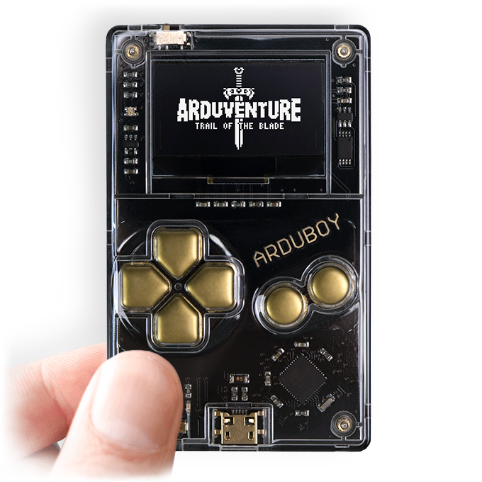 Arduventure on Arduboy: 8-bit RPG for your wallet