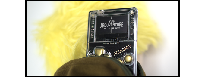 Functioning backpack that fits your Arduboy!