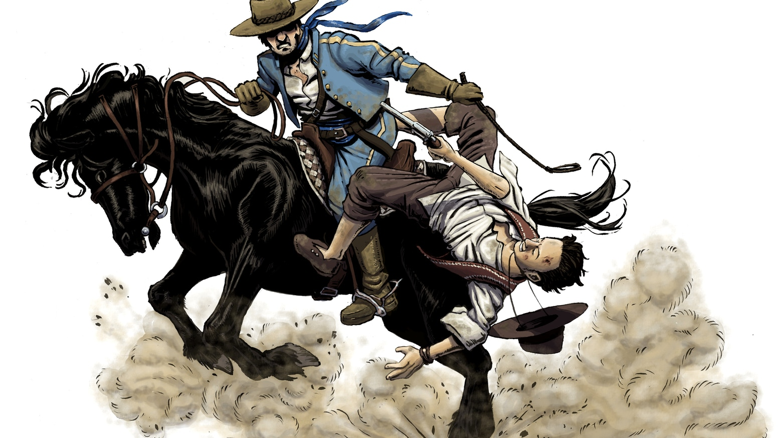 A Rulebook for a Pen and Paper RPG set in a Mythologised Old West setting, with heavy emphasis on player individuality and engagement.