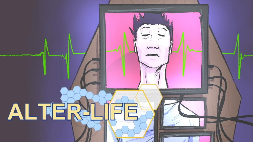 Alter-Life Issues 1-4: a Mind-Bending Sci-Fi Comic Series project video thumbnail