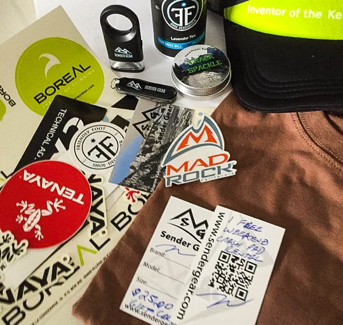 Sender Gear Gift Pack