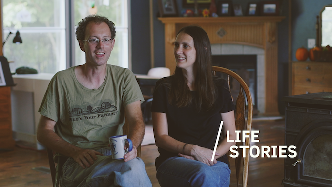 John & Jessica Moody talk about their experiences on the farm, and growing their food co-op.