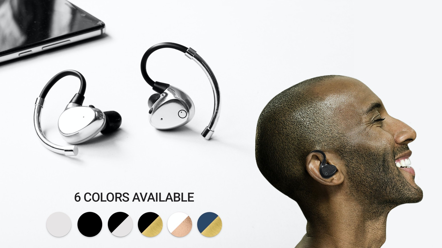 High Resolution Audio - Bluetooth 5.0 - 52 Hours Playtime - Beautiful Design - Secure Fit - Instant Pairing - USB Type C